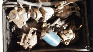 pieces4X4occasion.fr  support pompe filtre gasoil (Patrol Baroud et GR)