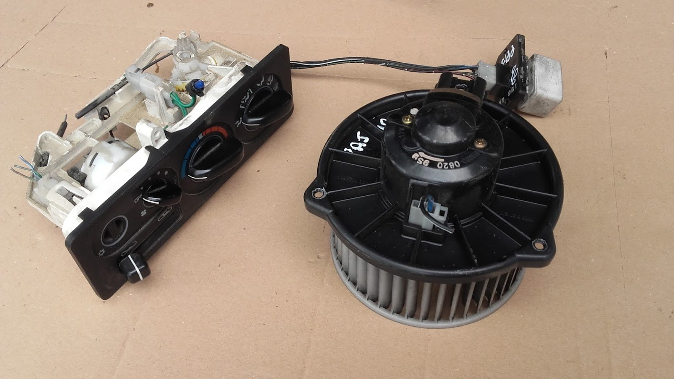 www.pieces4x4occasion.fr ventilateur pulseur bandeau chauffage resistance  pajero